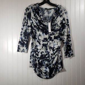Rose & Olive Watercolor Shirt NWT Size Large